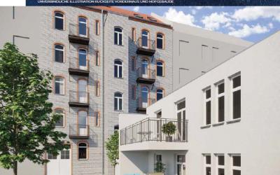Palais Markgraf - Baudenkmal mit Sonderabschreibung nach § 7i EStG und KfW Fördermittel